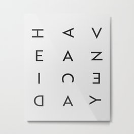 have a nice day 02 Metal Print