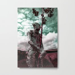 Frist Touch of Earth Metal Print