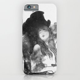 Let me feel you around. iPhone Case