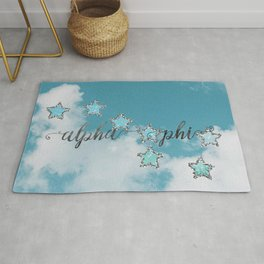 A Phi Constellation Rug