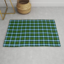 Scottish Clan MacNeil Tartan Plaid Rug