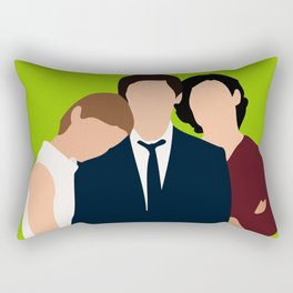 The Perks of Being a Wallflower ilustration Rectangular Pillow