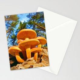 Blackbird Mushrooms Stationery Cards
