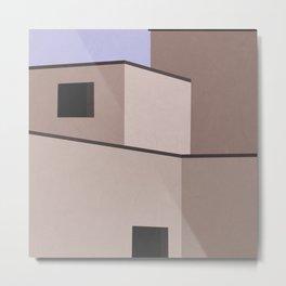 The Desert House Metal Print