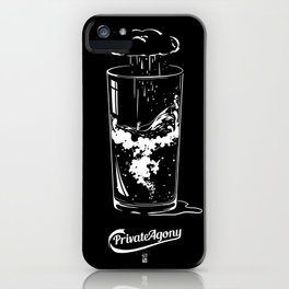 Private Agony iPhone Case
