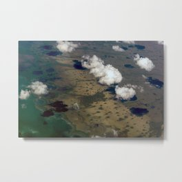 Enigmatic Escapes Marsh Metal Print