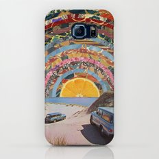 Orange sunset Galaxy S8 Slim Case