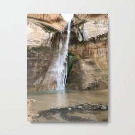 Waterfall at Grand-Staircase Escalante Metal Print
