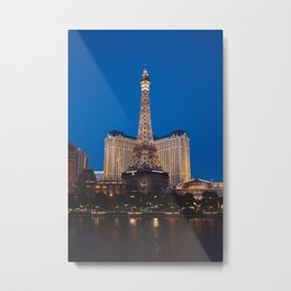 Las Vegas Paris II Metal Print