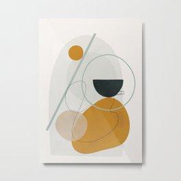 Abstract Shapes No.30 Metal Print