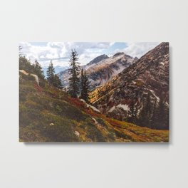 Alpine Autumn Metal Print