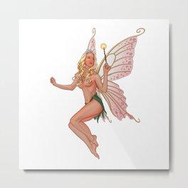 Garden fairy Metal Print