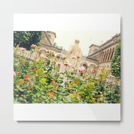 Garden at Hôtel-Dieu de Paris Metal Print