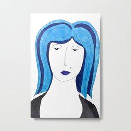 Babette Has the Blues Metal Print