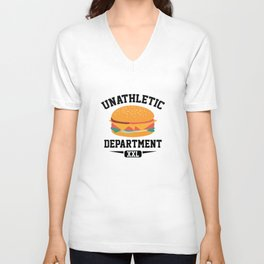 Unathletic Department Unisex V-Neck