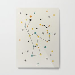 Orion Constellation Metal Print