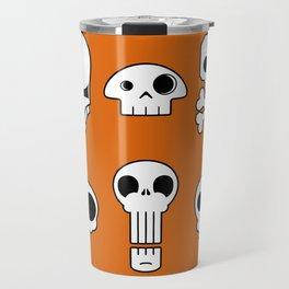 All skulls, all the time. Travel Mug