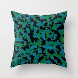 Shazam Camouflage Throw Pillow