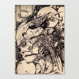Android A Canvas Print