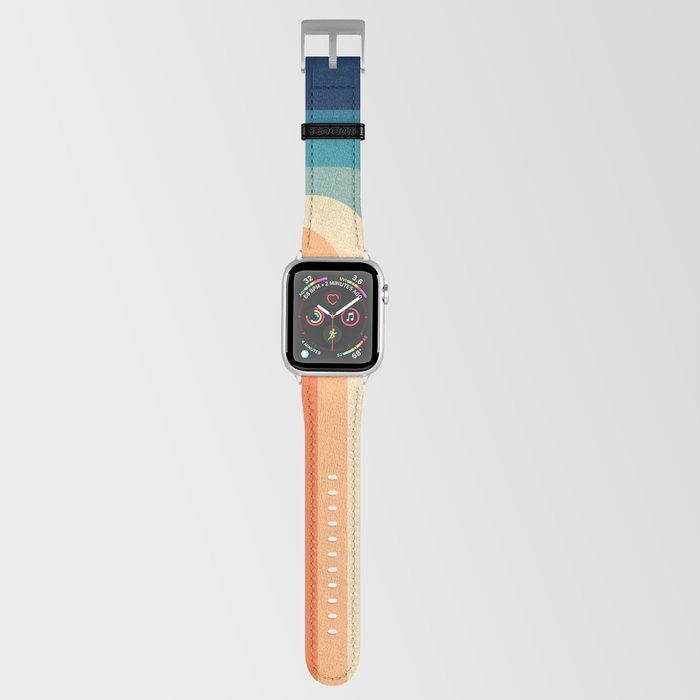Retro 70s Color Palette III Apple Watch Band