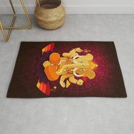 Ganesha | Animal Gods Rug