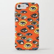 60s Eye Pattern iPhone 7 Tough Case