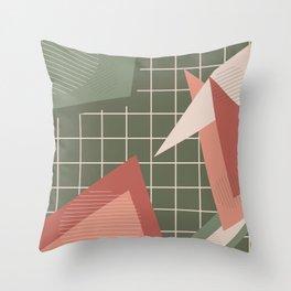 Geometry Mix Throw Pillow