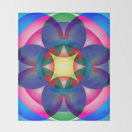 Atoms 34 Throw Blanket