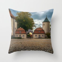 View to the entrance Throw Pillow
