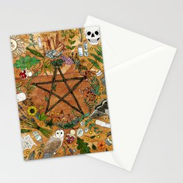 Witch tools Stationery Cards