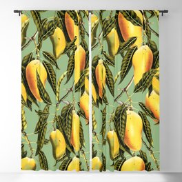 Mango Season #society6 #decor #buyart Blackout Curtain