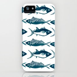 Fishes, fishes, fishes iPhone Case