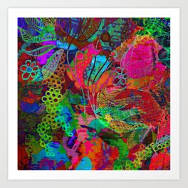 bohemian dream Art Print