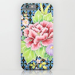 Brocade Bouquet iPhone Case