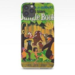 1961 Jungle Book Original US Film Movie Poster iPhone Case