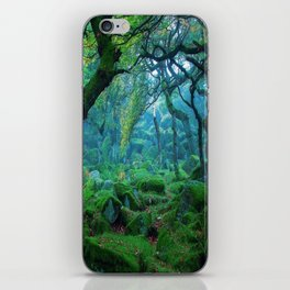 Enchanted forest mood iPhone Skin