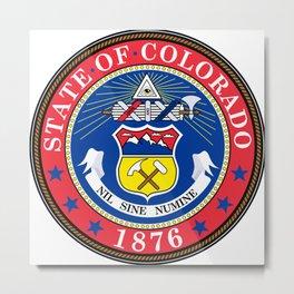 Colorado seal Metal Print
