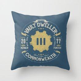 Vault 111 Member Forever Throw Pillow