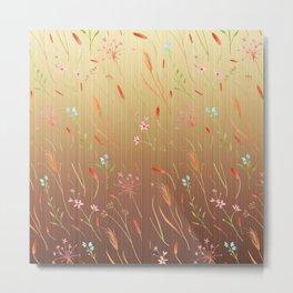 Grass is Graceful Metal Print