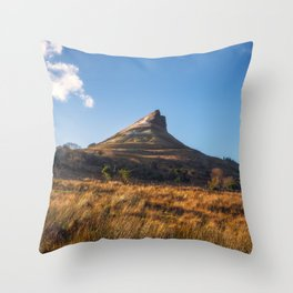 Benwiskin view - Ireland (RR317) Throw Pillow