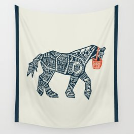 Iron Horse Wall Tapestry