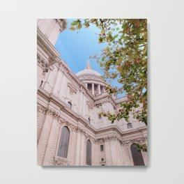 St Paul's Cathedral in Spring Metal Print