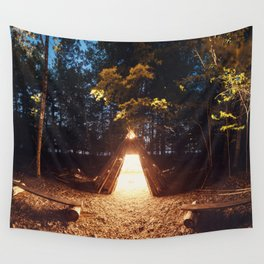 Light of the Teepee Wall Tapestry
