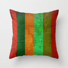 oil paint pattern Throw Pillow
