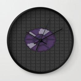 Encased Opal of the Eternal Night Wall Clock