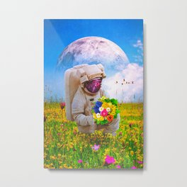 The Solitary Collector Metal Print