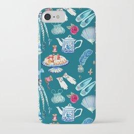 what would jane do, Jane Austen Quote, watercolor Jane Austen art iPhone Case