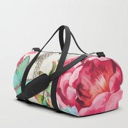 Paris Flower Market garden art Duffle Bag