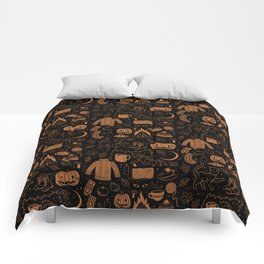 Autumn Nights: Halloween Comforters