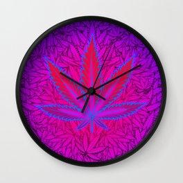 Cannabism Wall Clock